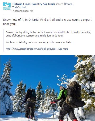 Ontario Cross-Country Trails!
