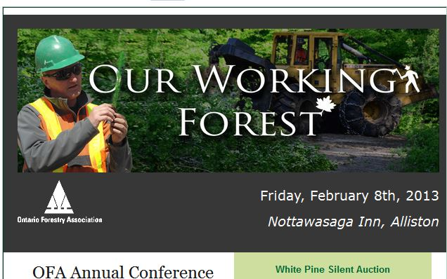 Ontario Forestry Association Conference