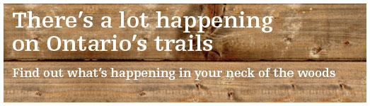 Ontario Trails Events Header